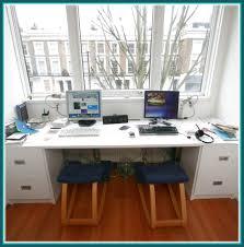 2 person desks 2 person computer desk best home furniture design