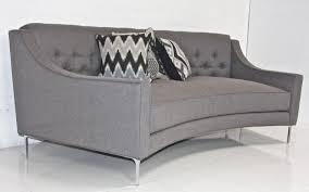 Contemporary Curved Sofa Curved Modern Sofa Contemporary Curved Sectional Sofa In Mustard