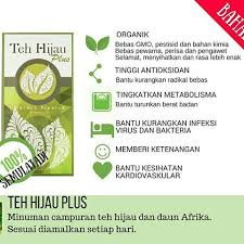 Teh Afrika teh hijau plus organik 11street malaysia instant coffee