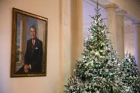 at the white house the halls are decked for christmas the new