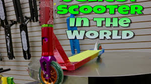 Ugliest Colors Custom Scooter Build Worlds Most Colorful Ugly Scooter Youtube