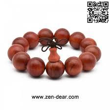 blood bracelet images Zen dear unisex natural blood dragon wood buddhist prayer beads jpg