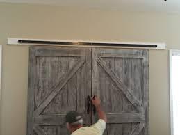 Steel Barn Door by Cheaper And Better Diy Barn Door Headboard And Faux Barn Door