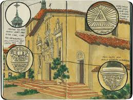 Mission Santa Clara De Asis Floor Plan by Drawn The Road Again An Illustrated Travel Blog By Chandler O