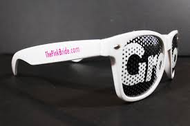wedding sunglasses groom sunglasses in white the pink