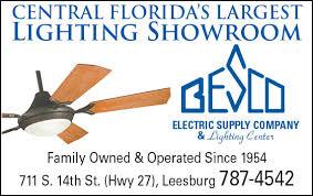 besco lighting leesburg fl besco lighting and fans