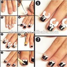 18designs diy beauty nail art stencil finger guides tips gs 18