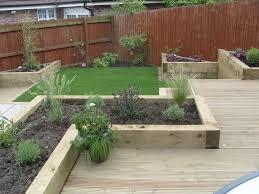 low maintenance garden border ideas for easy care plants tips