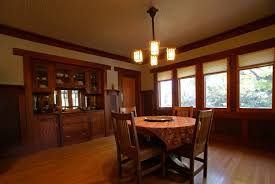 interior craftsman design elements were used consistently inside