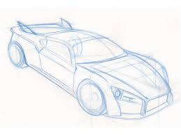 pencil sketch car pencil art drawing