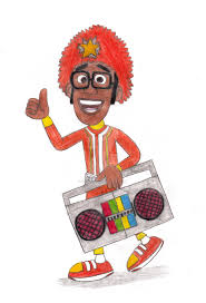 yo gabba gabba dj lance rock by krofftfan96 on deviantart
