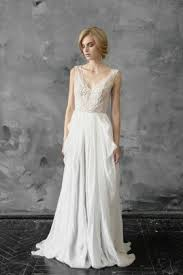 retro wedding dress affordable lace and chiffon wedding dresses collection luckybridals