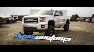 lifted white gmc custom 2014 gmc sierra 1500 all terrain lifted 7