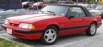 1991 lx 5 0 mustang ford mustang third generation