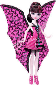 monster high ghoul to bat transformation draculaura doll shop
