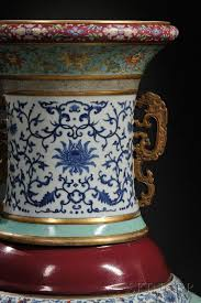 Vase Sets Chinese Porcelain Vase Sets Us Auction Record 3 Chinadaily Com Cn