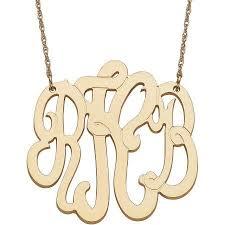 Three Initial Monogram Necklace Best 25 Gold Monogram Necklace Ideas On Pinterest Monogram