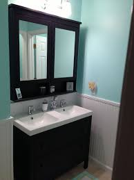Narrow Bathroom Sinks And Vanities by Top 25 Best Small Double Vanity Ideas On Pinterest Double Sink