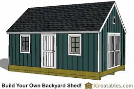 How To Build A Shed Plans For Free by 16x20 Shed Plans Build A Large Storage Shed Diy Shed Designs