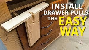 kitchen cabinet door hardware jig diy drawer pull jig