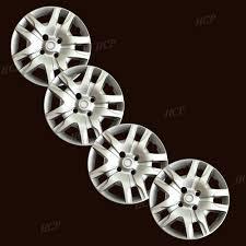 nissan sentra rim size new 16 u0026 034 silver hubcaps wheel rim covers fits 2007 2012 nissan
