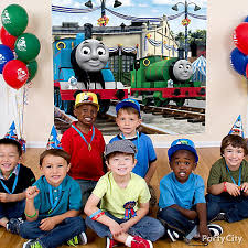 thomas the train party ideas party city