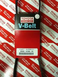lexus es330 power steering pump genuine toyota power steering belt