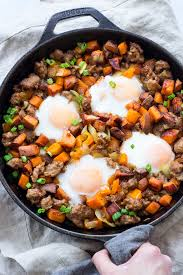 cuisine paleo potato hash with sausage and eggs paleo whole30 the