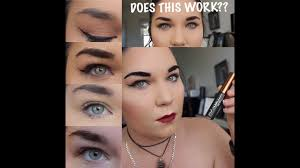 tattoo brow maybelline amazon peel off brows does this really work maybelline tattoo brow tint