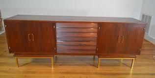 american of martinsville desk merton gershun for american of martinsville walnut and brass