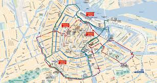 Hop On Hop Off New York Map by City Sightseeing Amsterdam Hop On Hop Off Bus Tour