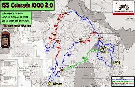 Creede Colorado Map by Colorado 1000 2 0 Gpskevin Adventure Rides