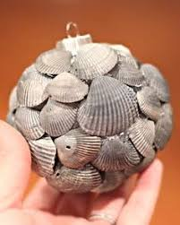 40 ornaments seashell ornaments