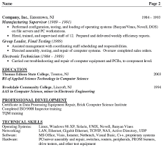 Sample Resume For Experienced Software Tester by Electronic Test Engineer Sample Resume 9 Software Test Engineer