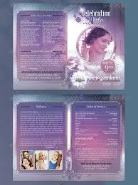 Sample Of Funeral Programs 8 Free Funeral Program Templates Word Excel Pdf Formats