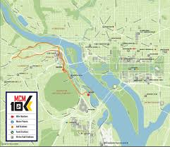 National Harbor Map Marine Corps Marathon Organizers Announce Race Day Changes Wtop