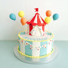 circus cake toppers carnival themed cake toppers circus birthday veselo top