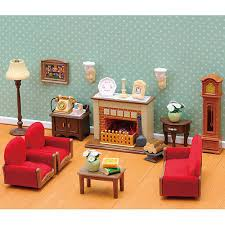 Luxury Living Room Set SYLVANIAN Families Figures Dolls - Sylvanian families luxury living room set
