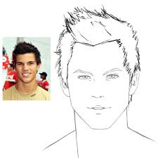 sketches of hair how to draw hair male sharenoesis