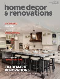Home Decor And Renovations Calgary Home Decor U0026 Renovations Oct 2016 By Nexthome Issuu