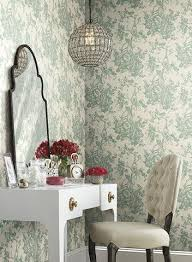 toile wallpaper french inspired styles burke decor