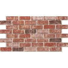 interior brick veneer home depot peaceful ideas faux brick wall home depot panel used panels wall