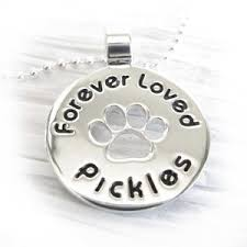 Personalized Paw Print Necklace Glass Cremation Jewelry U2014 Locked In Art