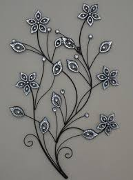 Metal Flower Wall Decor - stunning large metal flower wall art jpg 351 473 metal flowers