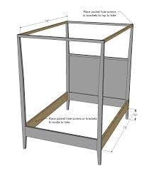 size canopy bed frame white canopy bed size diy projects