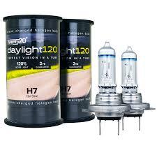 h7 twenty20 daylight120 12v 55w 477 headlight halogen bulb pair