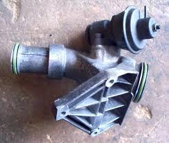 turbocharger air mixture housing om603 turbo diesel w124 w126 w140