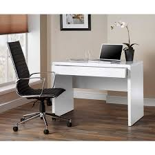 Desks For Home Office Uk Luxor Gloss Workstation Desk With Drawer White Home