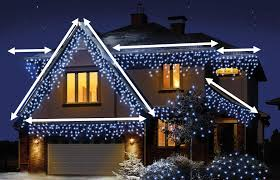 how many icicle lights do i need for my house