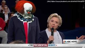 Pennywise The Clown Meme - on creepy clowns and creeping candidates